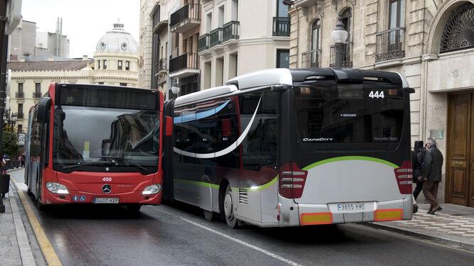 Pagar con tarjeta en los urbanos de Granada