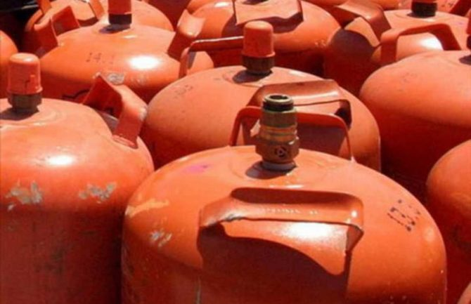 Indicador de gas en bombonas de butano