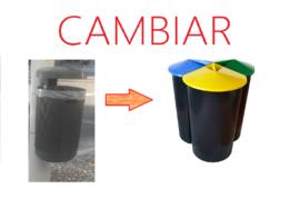 Papeleras de reciclaje al poder