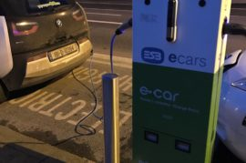 Puntos de recarga para los coches eléctricos