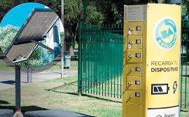 Cargadores solares públicos