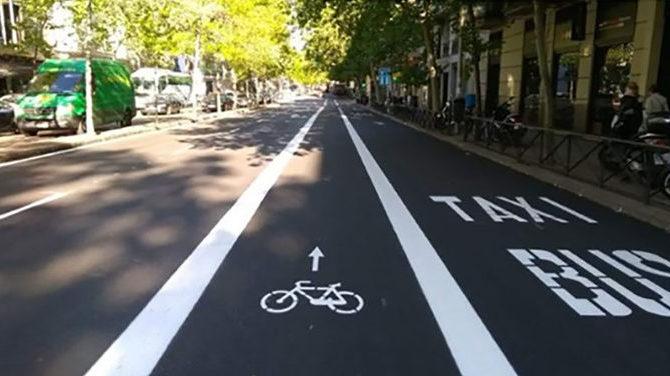 Más carril bici en Granada