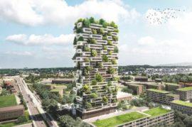 Integración de la naturaleza en la ciudad