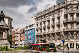 Hacer el centro de la ciudad peatonal