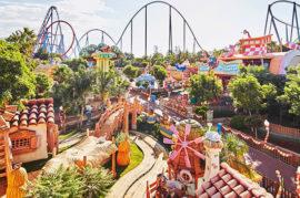 Parque de atracciones en Granada
