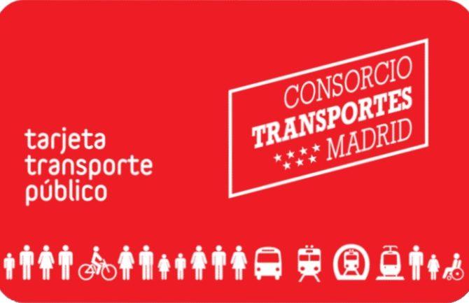 Unificación tarjeta transporte
