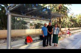 Adaptación de los autobuses de Granada para ciegos