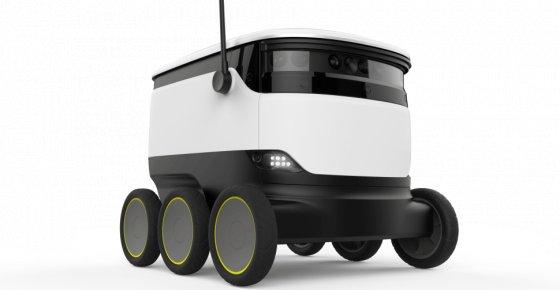 Robots para logística urbana