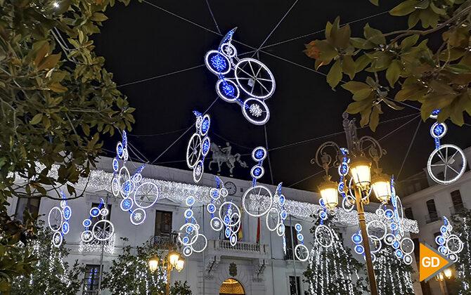 Iluminación navideña ecológica