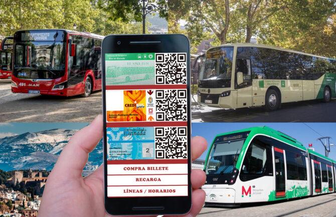 App tarjetero transporte público