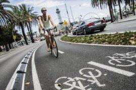 Aumento del carril bici