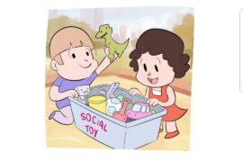 Social Toy. Compartir juguetes en la plaza de tu barrio