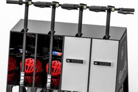 Zona de carga de transporte eléctrico en cada facultad
