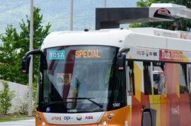 Electrificar la flota de autobuses urbanos para reducir la contaminación en Granada