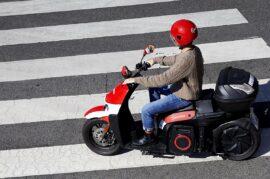 Servicio de motosharing en Granada