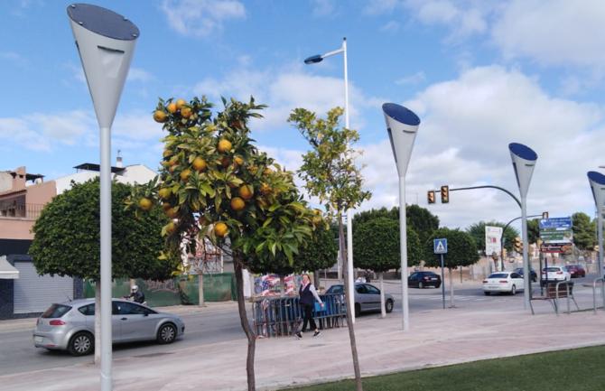 Farolas Solares para alumbrado público