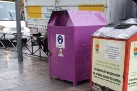 Contenedores para reciclar mascarillas