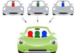 Compartir coche para ir a la facultad