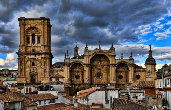 Espectáculo de luces en la Catedral de Granada