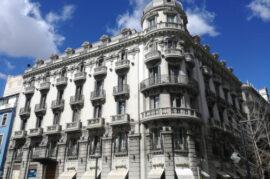 Renovación de fachadas de edificios con carácter histórico