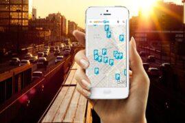 Aplicaciones de búsqueda de aparcamiento en las ciudades