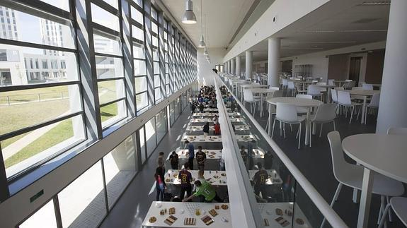 Excedente de alimentación en comedores universitarios