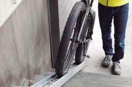 Rampa para bicicletas