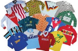 Tienda de camisetas de fútbol históricas