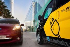 Motivar con ayudas a el cambio de taxis antiguos por taxis de bajas emisiones